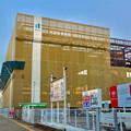 写真: 新しい建物の建設が始まってた、ヤマダ電機テックランド春日井店(2017年1月26日)- 4