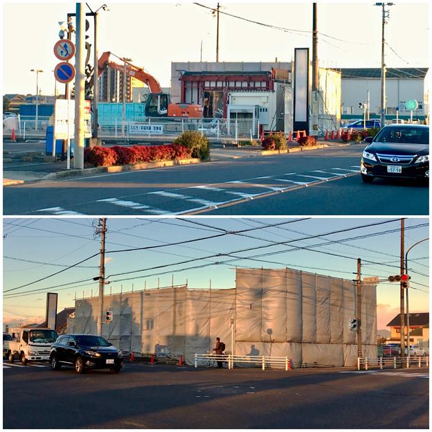 春日井市民病院前の元・回転寿司屋の建物が解体 - 5