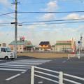 写真: 建物がすっかり解体されて更地になってた、春日井市民病院前の元・回転寿司屋跡地 - 2