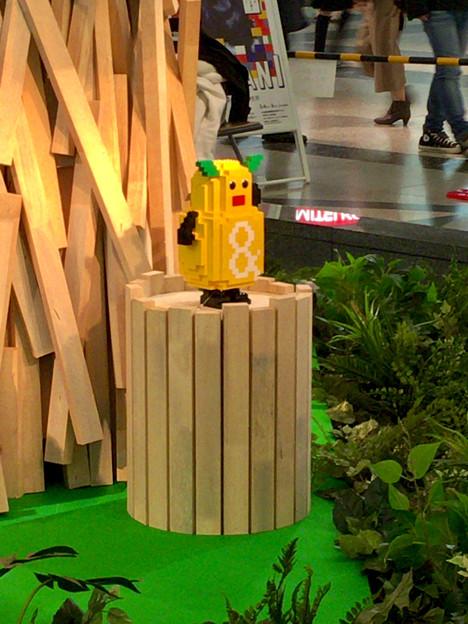 クリスタル広場:東山動植物園の80周年をPRするため、同園の有名なイケメンゴリラ「シャバーニ」のレゴ像を設置 - 5(ズーボ像)
