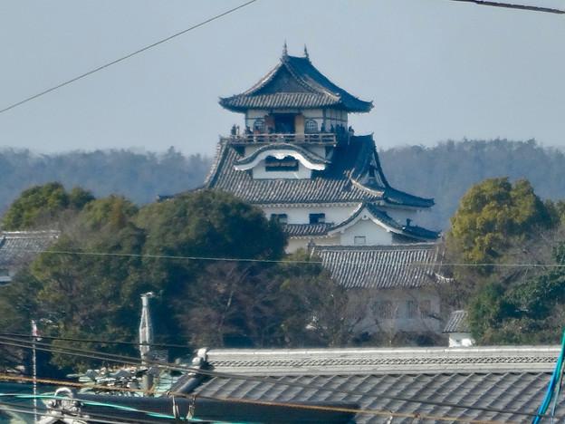 犬山駅から見た犬山城 - 3