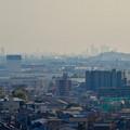 写真: 犬山城から見た景色:ザ・シーン城北と名駅ビル群 - 1