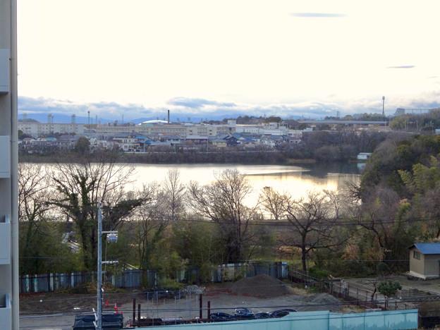 市営下原住宅から見た景色 - 1:大池方面