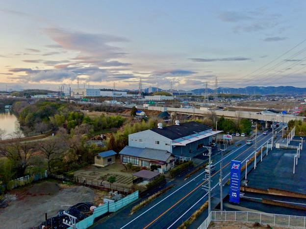 市営下原住宅から見た景色 - 4:桃花台方面