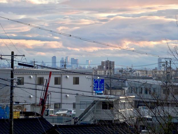 市営下原住宅から見下ろした名駅ビル群 - 1