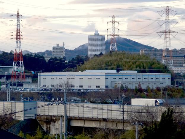 市営下原住宅から見たスカイステージ33 - 1