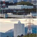市営下原住宅から見たスカイステージ33 - 7