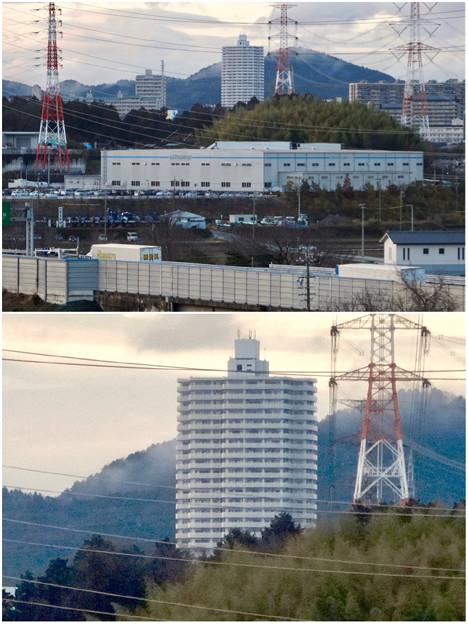 市営下原住宅から見たスカイステージ33 - 8