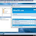 写真: WEB OS「SilveOS」