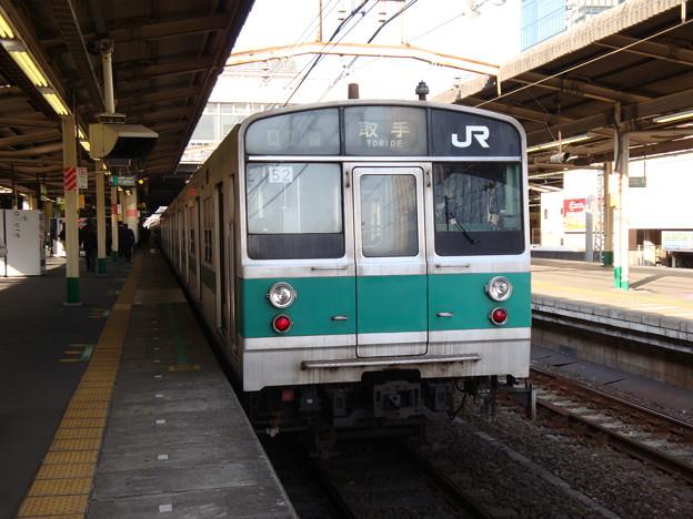203 マト52 松戸駅で