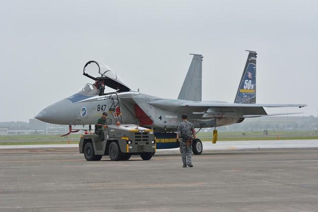 第203飛行隊 創隊50周年記念塗装