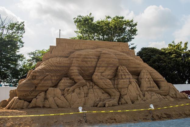 砂のティラノサウルス