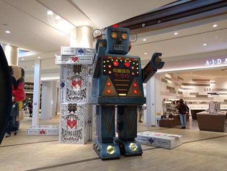 柏アリオのロボット