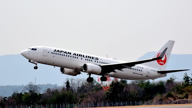 広島空港では当たり前の風景