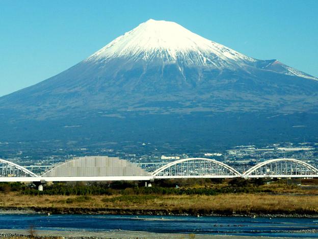 2017.元旦の富士山