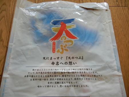 福島県産の天のつぶ