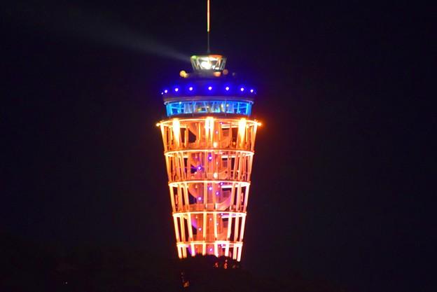 江ノ島展望灯台シーキャンドル #湘南 #藤沢 #海 #波 #beach #wave #夜景 #nightview