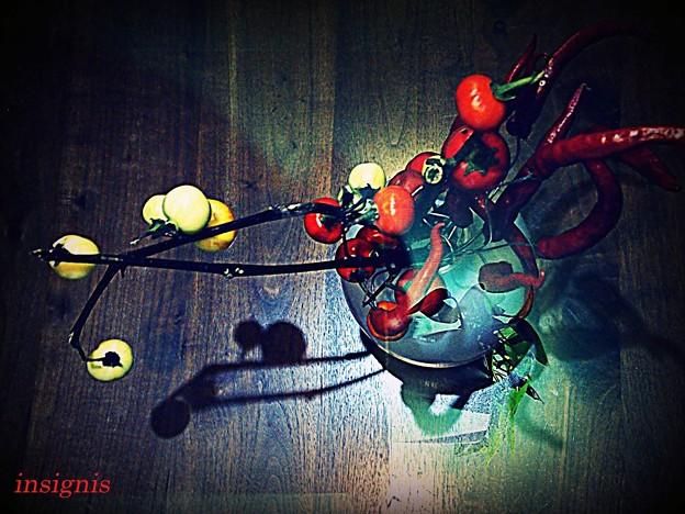 Red arrangement.......