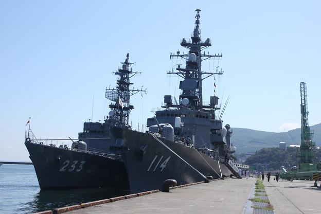 小樽港 艦艇公開