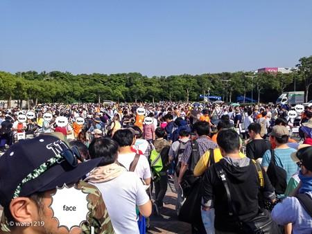 WF2014S ダイレクトパス集合場所