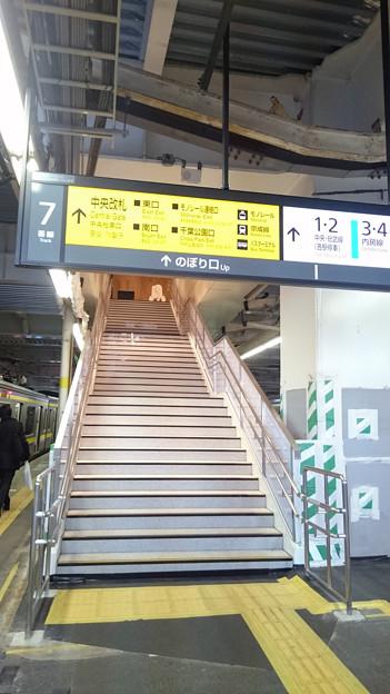 7-8番線ホーム階段 [JR 千葉駅]