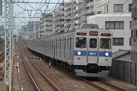 東急8500系@梅島駅[5/16]
