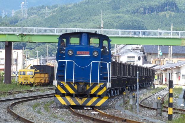 岩手開発鉄道DD5601、その2。