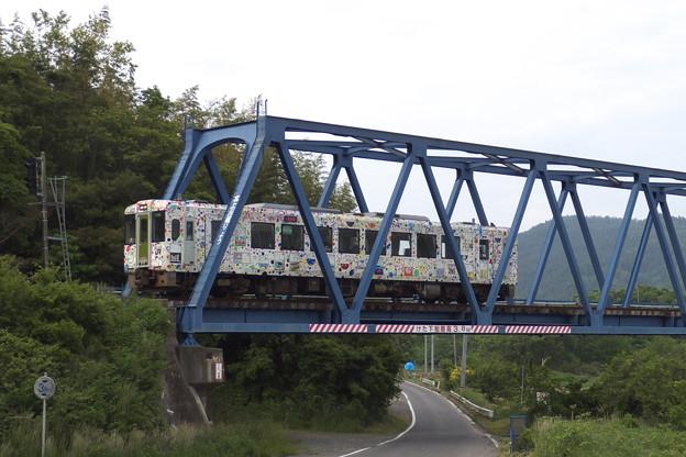 北上川橋梁。