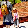 煉瓦の美学 母と娘