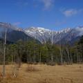 田代湿原からの穂高岳