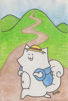 リスの旅 登山