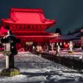 Photos: 光と雪の国宝・瑞龍寺