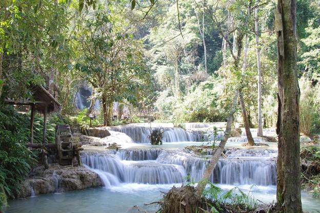 写真: クアンシーの滝