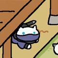 写真: 忍びの猫忍ぶさん