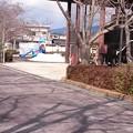 本町公園の遊具で遊ぶ