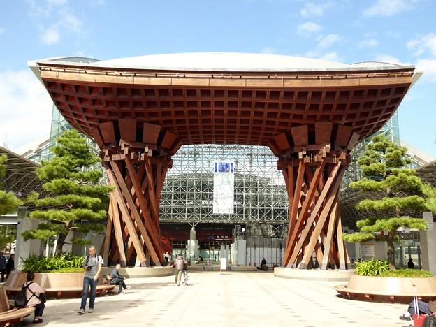 Photos: 加賀百万石の玄関