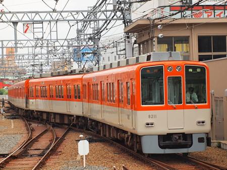 阪神8000系急行 阪神本線尼崎駅02