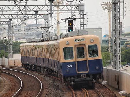 阪神5001形普通 阪神本線大物駅