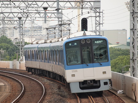 阪神5500系普通 阪神本線大物駅