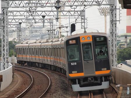 阪神9000系急行 阪神本線大物駅