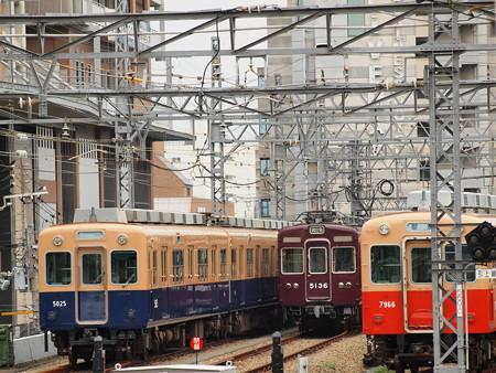 阪急5100系 阪神尼崎駅04