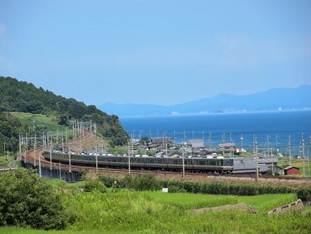 223系新快速 湖西線北小松~近江高島02