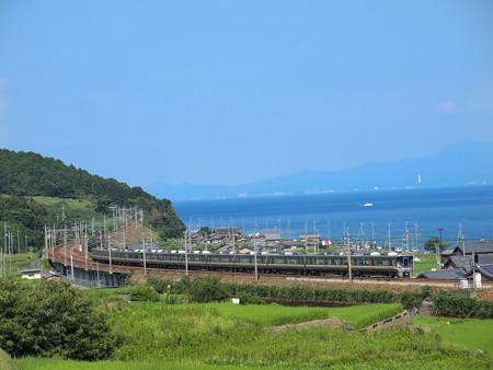225系新快速 湖西線北小松~近江高島02
