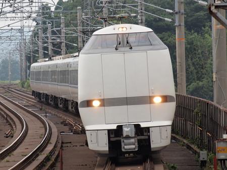 683系 特急サンダーバード 湖西線志賀駅02