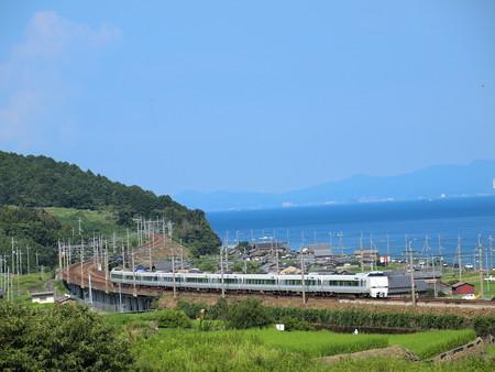 683系特急サンダーバード  湖西線北小松~近江高島02