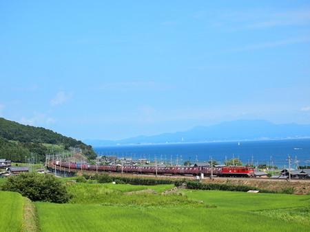 EF510貨物 湖西線北小松~近江高島01