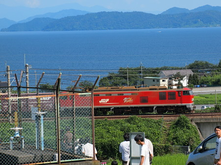 EF510貨物 湖西線北小松~近江高島04