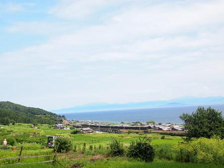 24系 寝台特急トワイライトエクスプレス後追い 湖西線北小松~近江高島