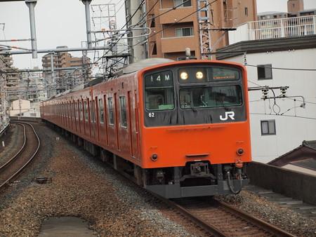 201系普通 大阪環状線福島駅02