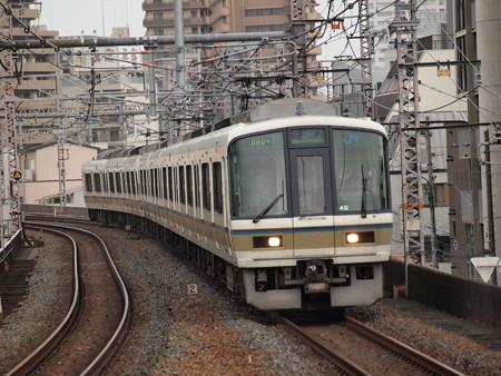 221系大和路快速 大阪環状線福島駅01